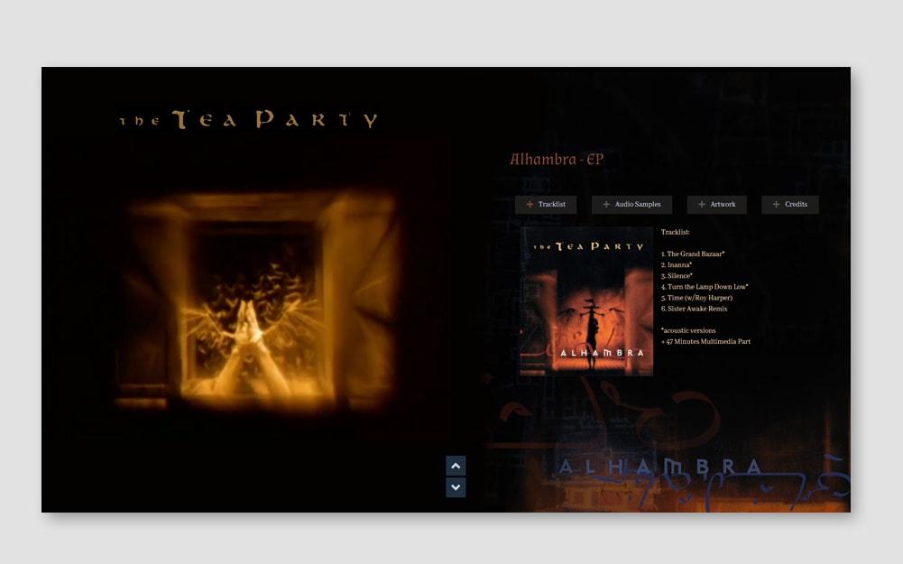 Alhambra Webseite