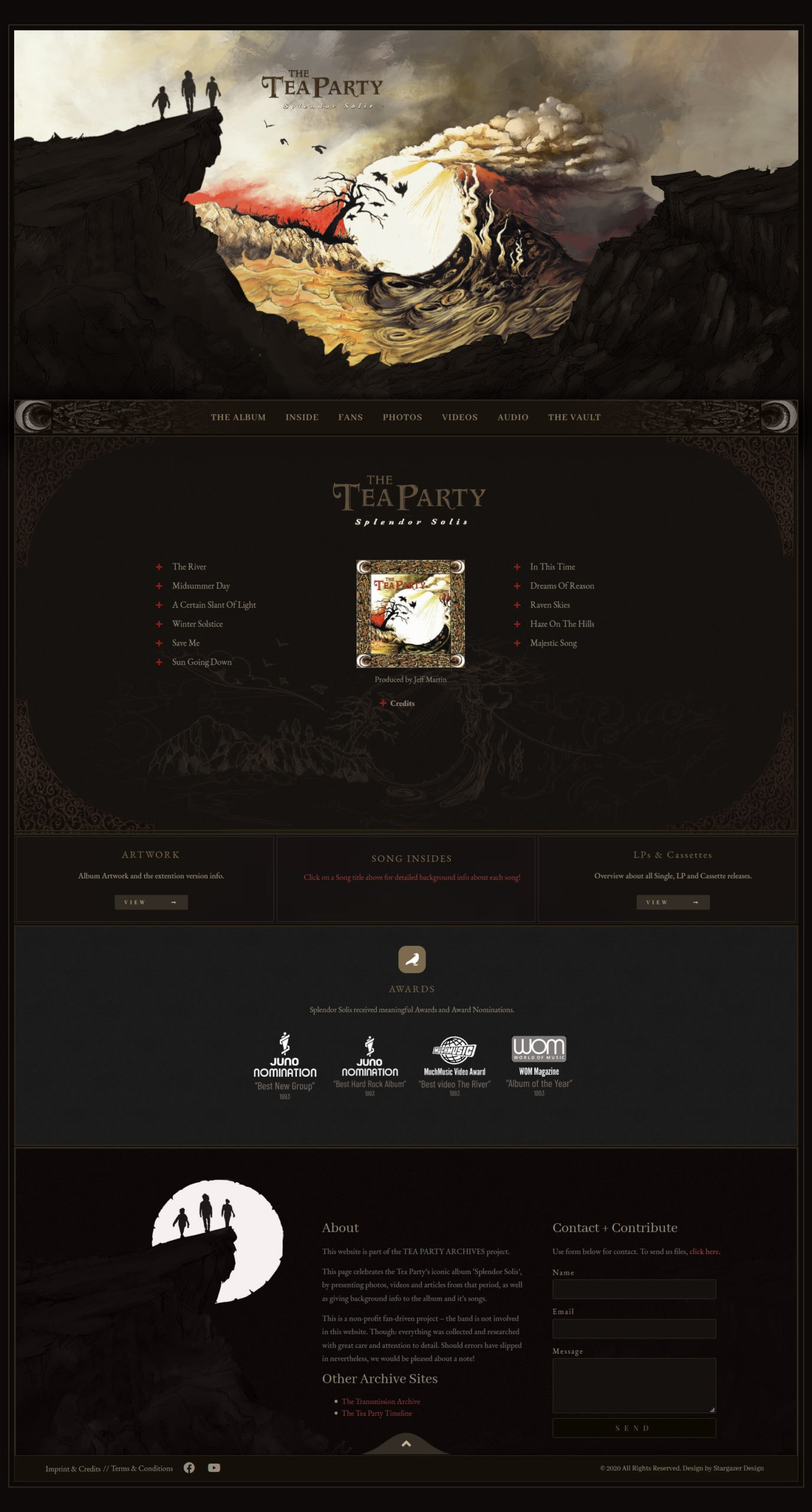 Splendor Solis Webseite