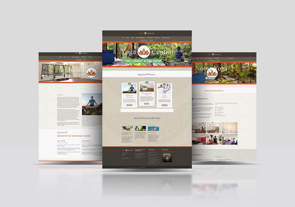Yoga Webseite