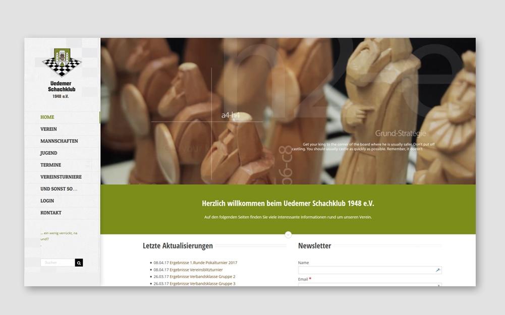 Uedemer Schachklub Webseite