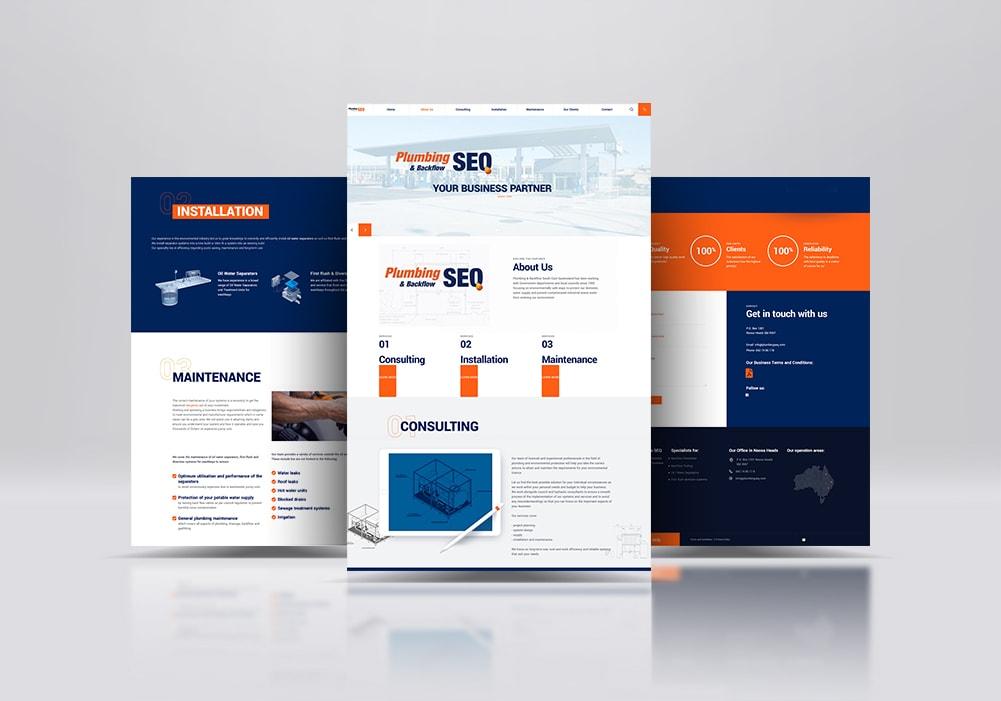 Plumber Webseite