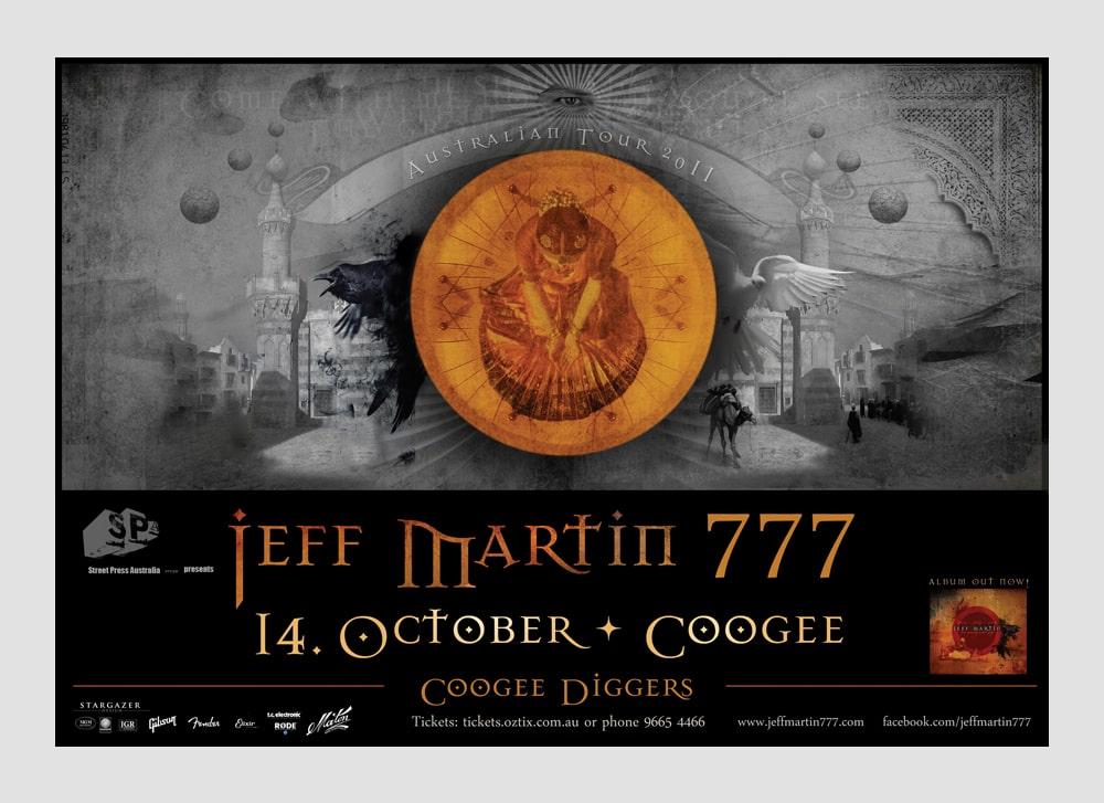 Jeff Martin Anzeige