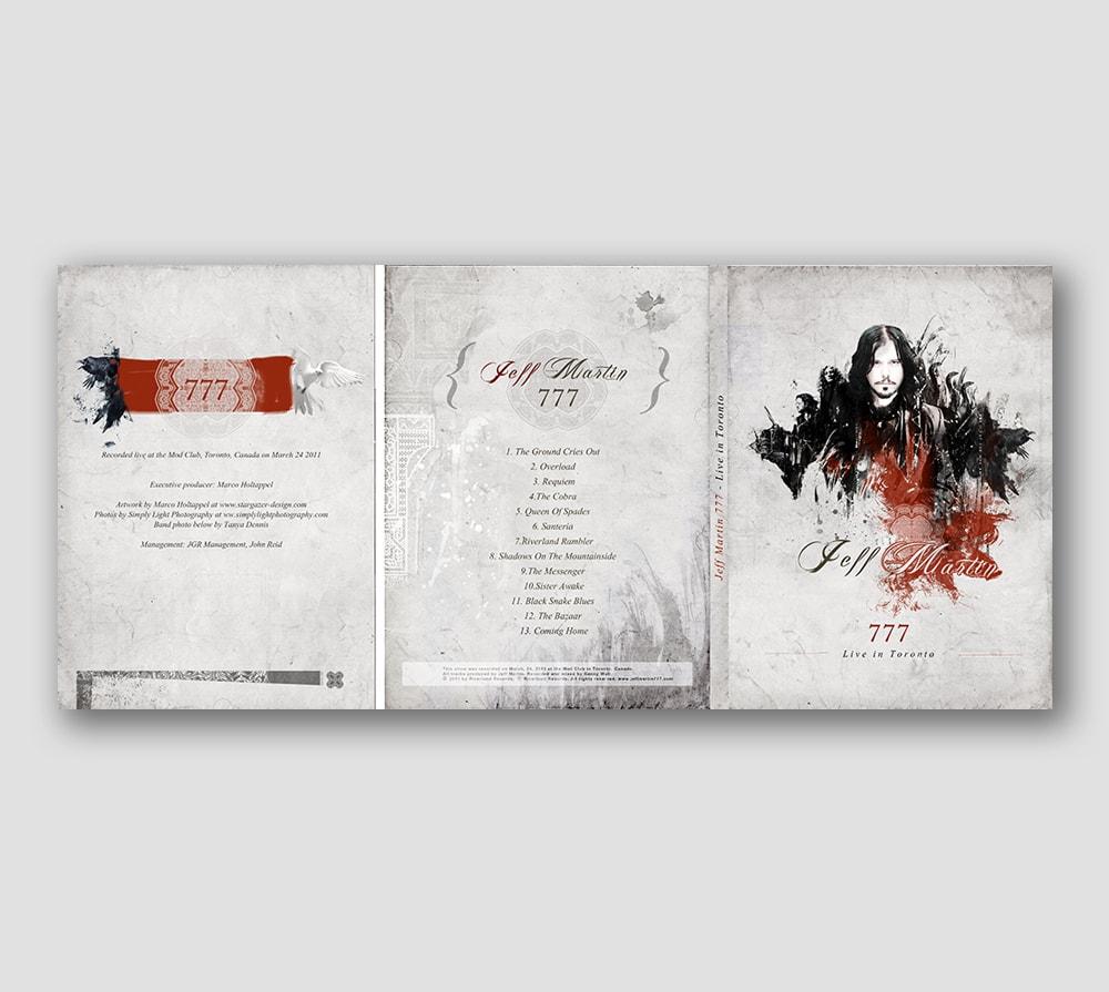 Jeff Martin 777 - DVD