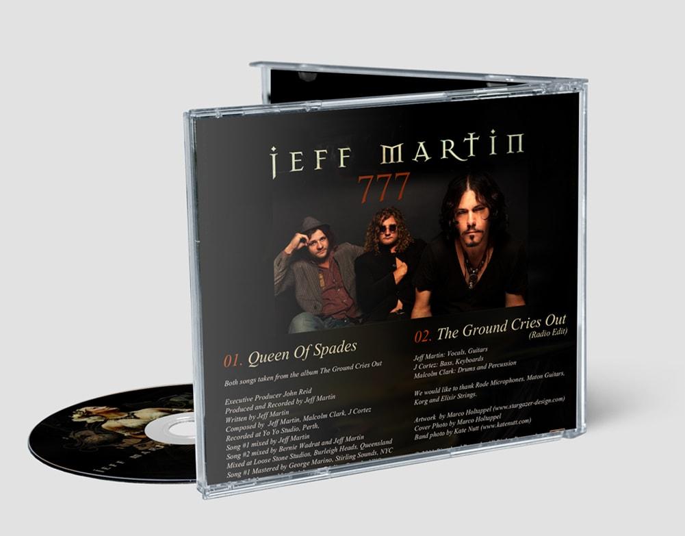 Jeff Martin - Queen Of Spades