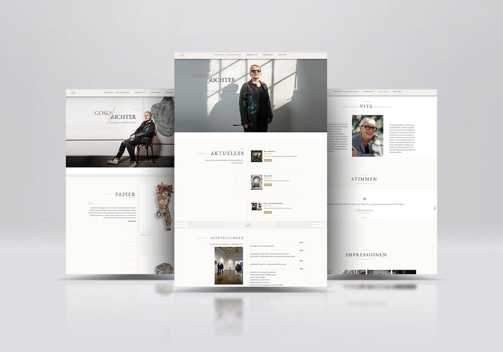 Gosia-Richter-Webseite