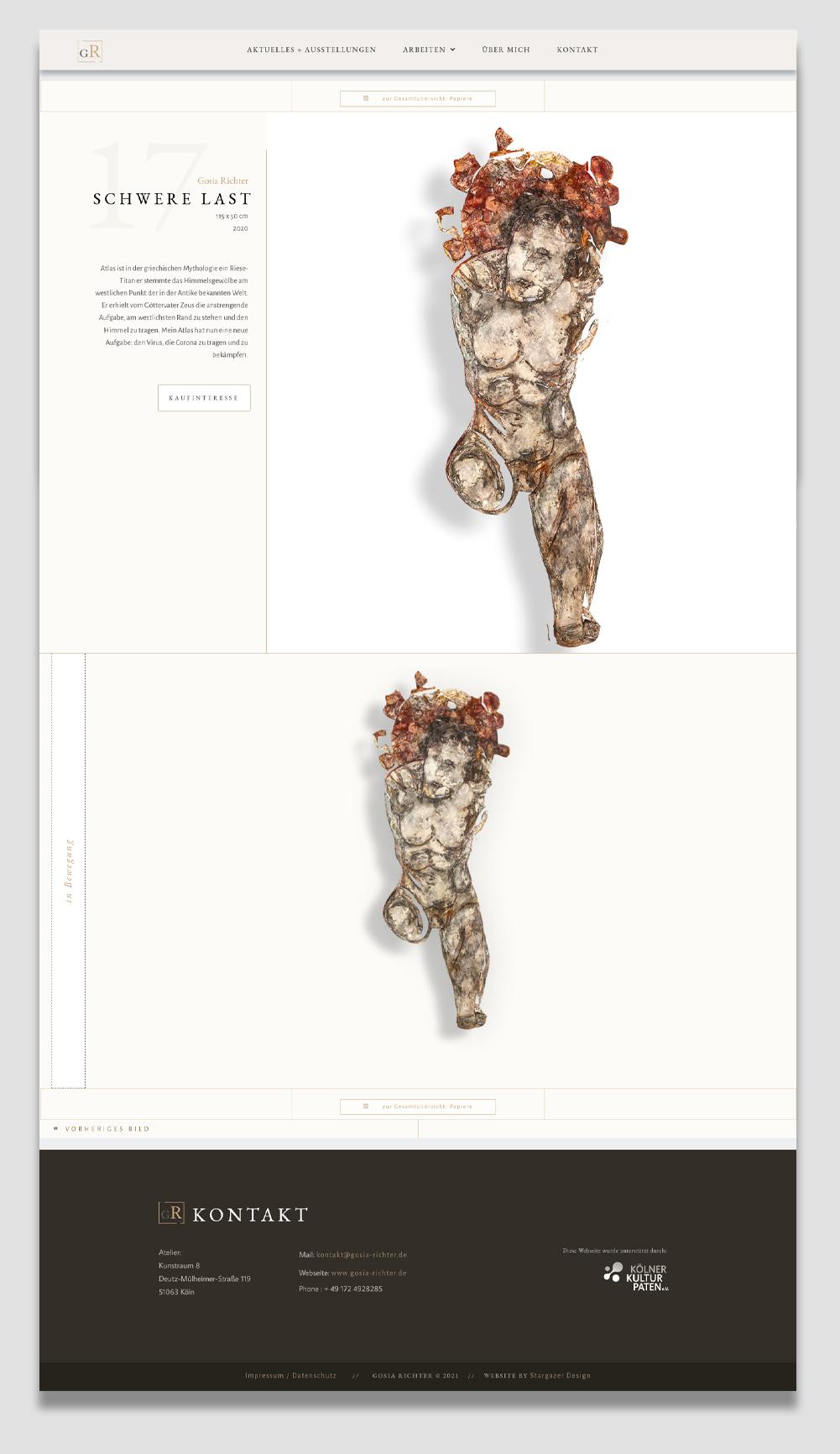 Gosia-Richter- Webseite